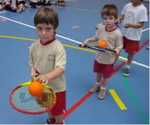 Tennis a les Escoles