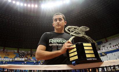 Nicolas Almagro, del RCT Barcelona-1899, campió del Brasil Open 2012.