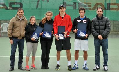 Finalistes del Campionat de Catalunya Júnior 2012.