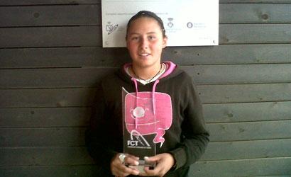 Lisalou Charlot Roemer, campiona de la quarta prova del Circuit Absolut FCT 2012.