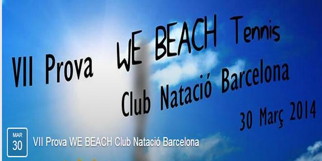 Pròxima prova We Beach a la vista
