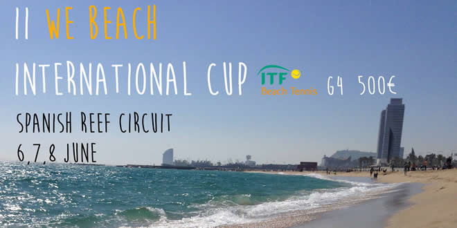 II We Beach International Cup, la primera prova internacional de la temporada