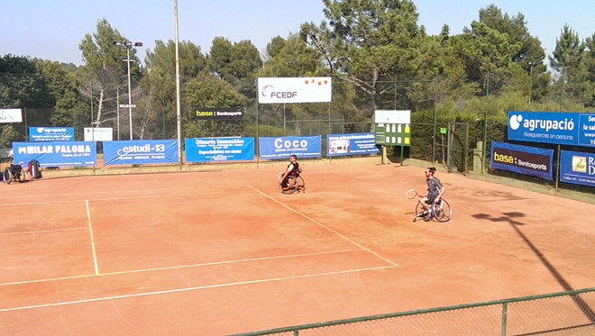 Comença el XXIV Campionat de Catalunya Open de Tennis en Cadira de Rodes 2014