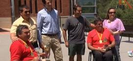 Carlos Pina guanya el Català en cadira de rodes