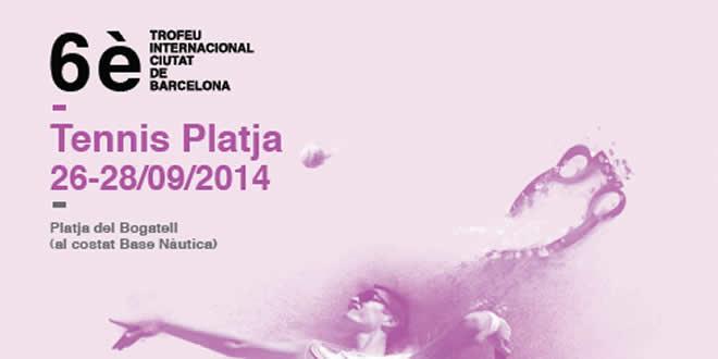 El circuit Internacional de Tennis Platja torna a Barcelona