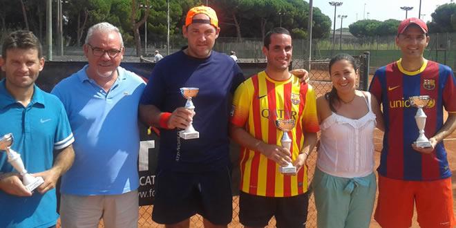 """Campionat de Catalunya Sènior """"0"""" al CT Andrés Gimeno"""