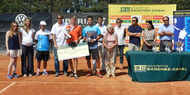 Tybar, Bassols, Bondarevskiy, Cadar; Campions al Tennis Europe Sánchez-Casal Youth Cup. Dani Usón In Memoriam.