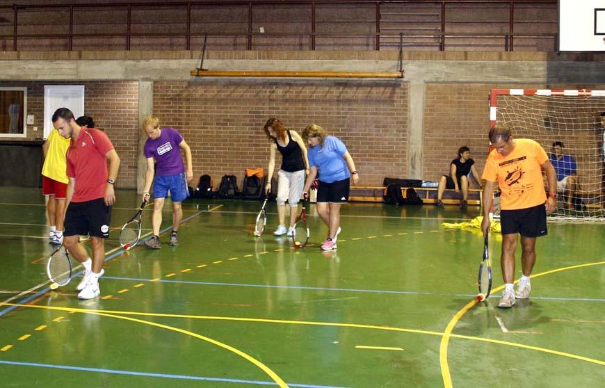 Jornada formativa de tennis de la FCT Lleida per a les escoles
