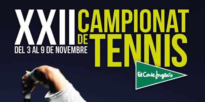 3 – 9 novembre | XXII Torneig de Tennis de El Corte Inglés