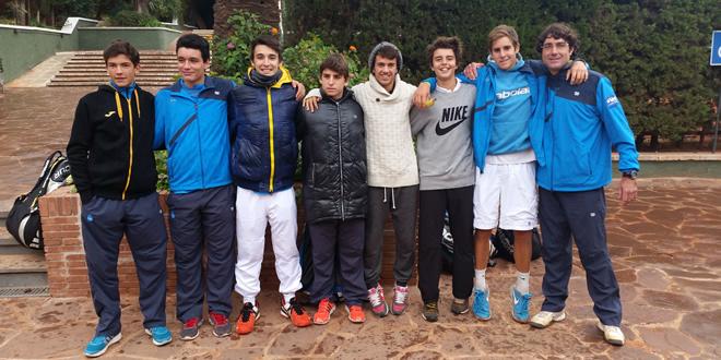 """El CT Barcino campió de Catalunya per equips cadet """"A"""" categoria Or, Trofeu J. Ventura """"In Memoriam"""""""