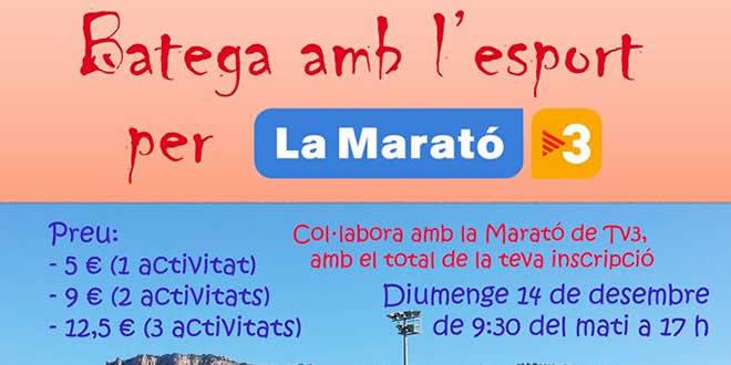 El CD Terrassa Hockey  col·laborarà amb la Marató de TV3
