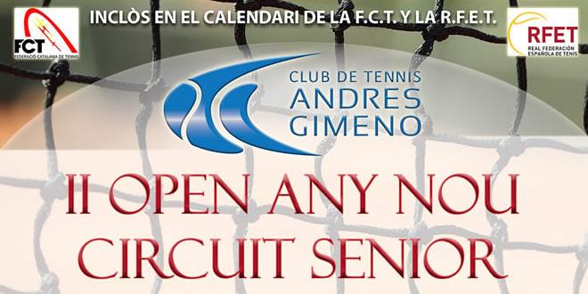 CT Andres Gimeno | II Open any nou Circuit Sènior CTAG