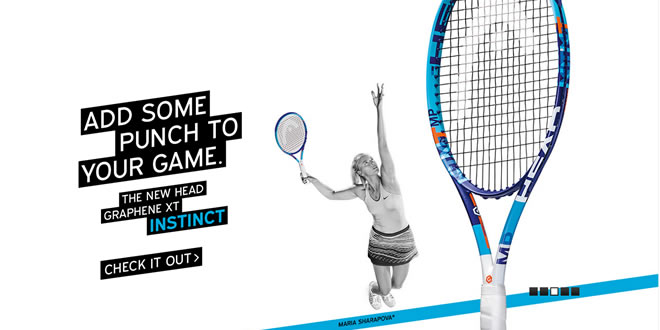 Add some punch to game the new HEAD GRAPHENE XT INSTINCT