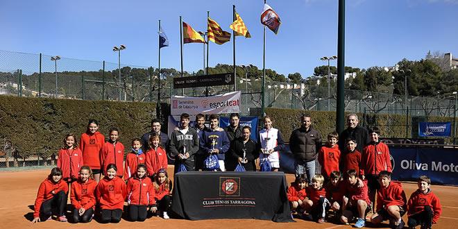 Sergi Fontcuberta i Guiomar Maristany es proclamen campions del Campionat de Catalunya Júnior