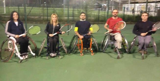 Escola de Competició de Tennis en Cadira de Rodes – FCT