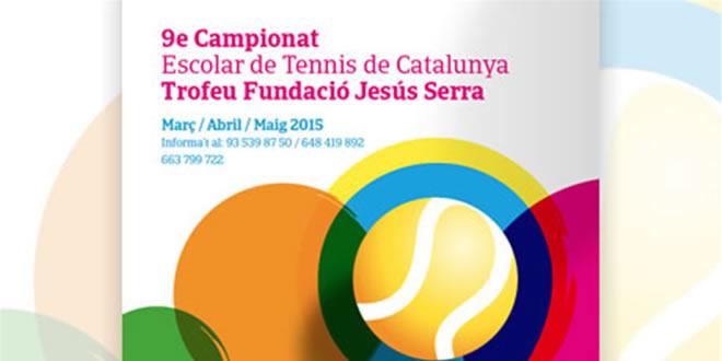 9è Campionat Escolar de Tennis de Catalunya – Trofeu Fundació Jesús Serra
