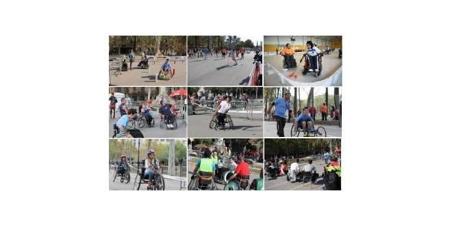 Jornada de promoció d'esport adaptat a la ciutat de Barcelona