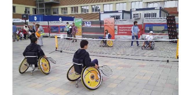 Jornada d'esport adaptat a l'Hospital Sant Joan de Déu