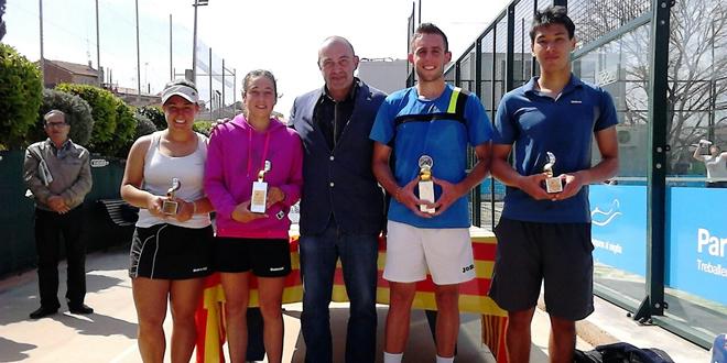 Davis Subirà i Meritxell Perera vencedors de la prova del Circuit Absolut de la FCT de Castellar del Vallès