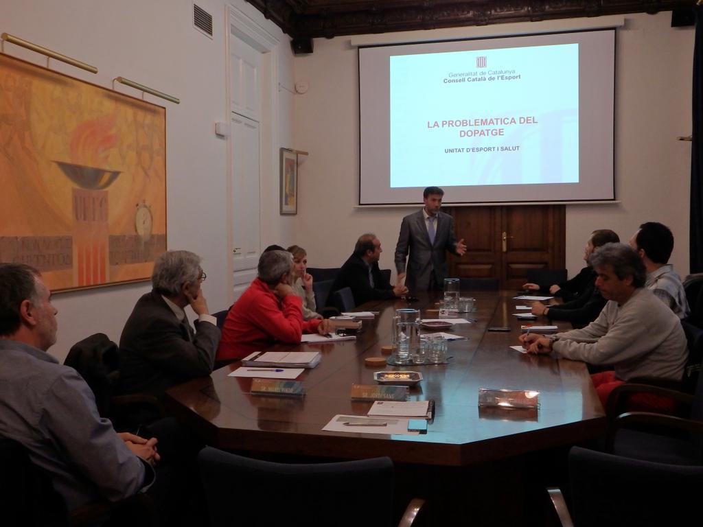 Conferència sobre dopatge a la UFEC