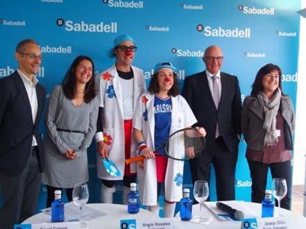 """Vuitena edició dels """"ACES Solidaris"""" al Barcelona Open Banc Sabadell Godó 2015"""