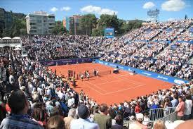 Sortida grupal dels alumnes del programa Tennis i Salut Mental al Godó