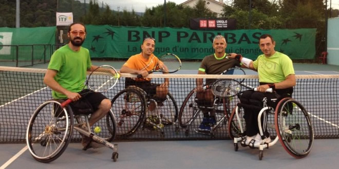 Francesc Prat participa en el Open Handisport de Cangnes Sur Mer