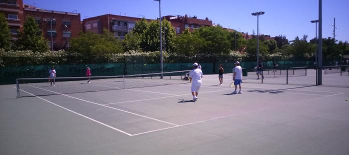 Cloenda del programa Tennis i Salut Mental a Cornellà