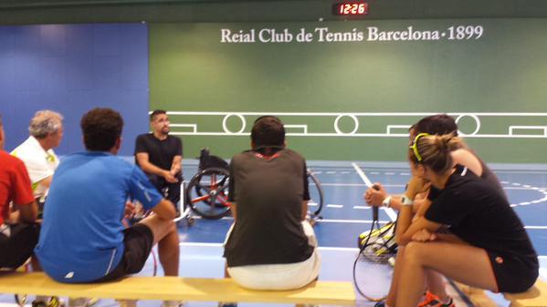 José Luís Montoya participa al Curs de Tècnic/a d'Esport Nivell 1