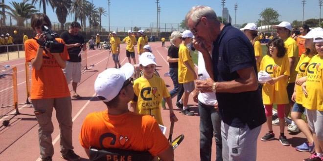 La FCT participa a la Festa de la Fundació Johan Cruyff