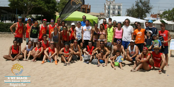 J. Peinado – A. Albors y M. Rebull – B. Klindtberg, campions del torneig benèfic X We Beach pro Aspronis
