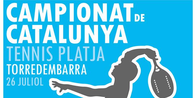 Campionat de Catalunya de Tennis Platja 2015
