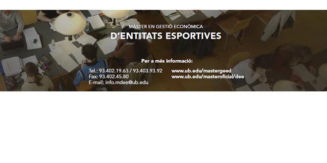 Gestió Econòmica d'Entitats Esportives