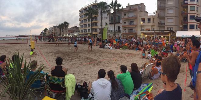Gran Campionat de Catalunya de Tennis Platja!  Torredembarra va viure una catarsi amb el torneig!