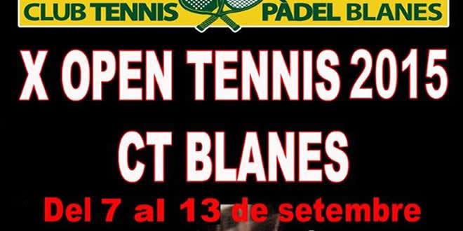 X Open Tennis 2015 CT Blanes