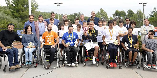 Quico Tur guanya el XXV Campionat de Catalunya Open de Tennis Adaptat