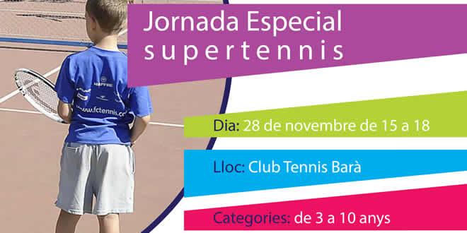 28 novembre | Supertennis Club Tennis Barà