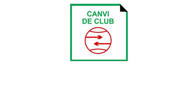 Normativa canvis club 2016