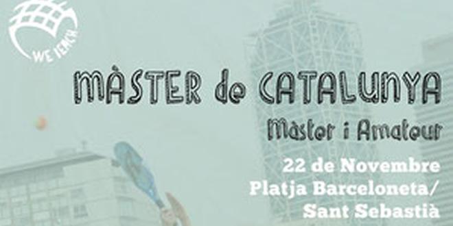Novembre 22 – Màster de Catalunya de tennis platja a Barcelona