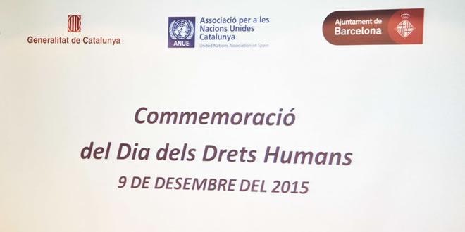 La Federació Catalana de Tennis participa en la commemoració del Dia Internacional dels Drets Humans, centrada en l'esport