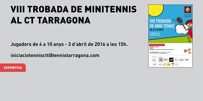 VIII Trobada de Minitennis CT Tarragona