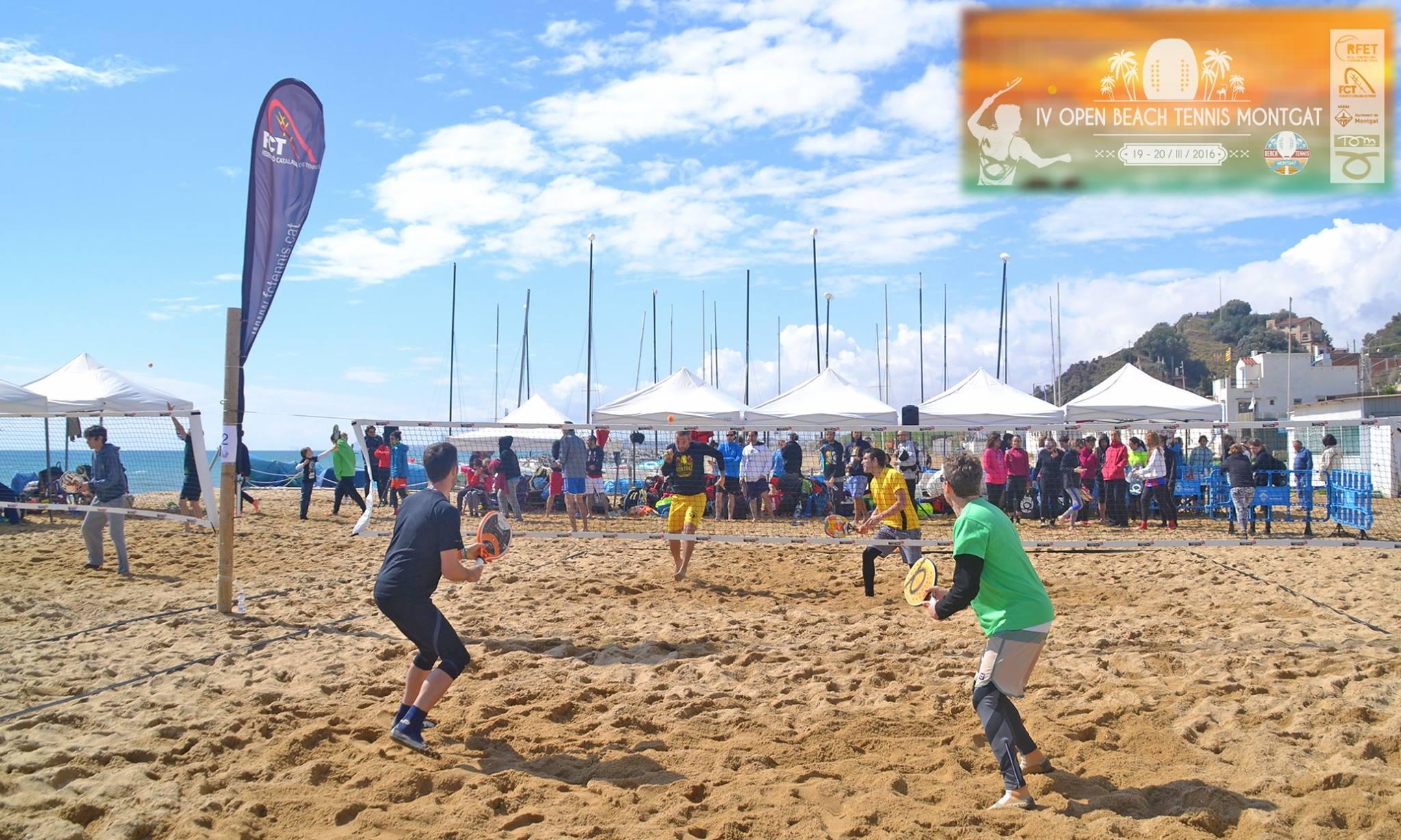 IV Open Beach Tennis Montgat – Federació Catalana de Tennis