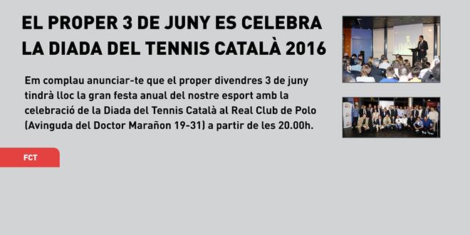 Divendres 3 de juny   I   Diada del Tennis Català