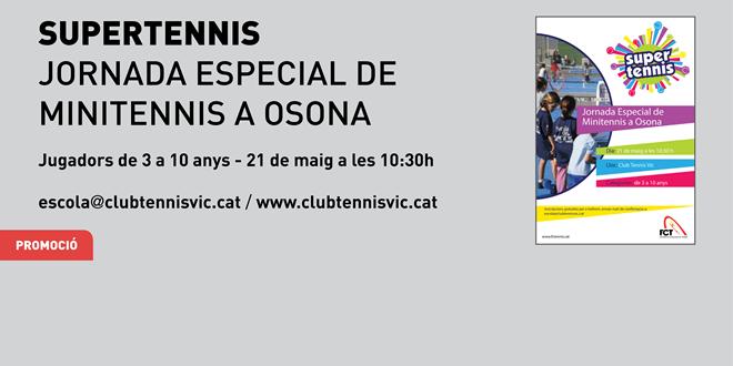 Jornada Especial de Supertennis al Club Tennis Vic