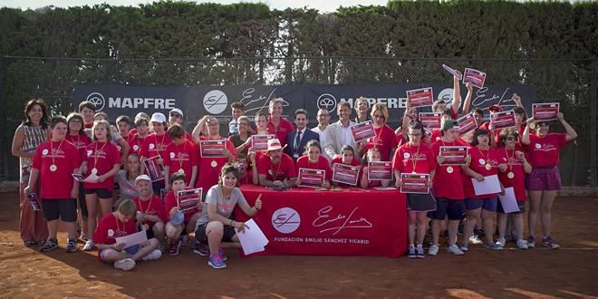 Emotiva Clausura de IV Curs Tennis Discapacitat de la Fundació Emilio Sánchez Vicario