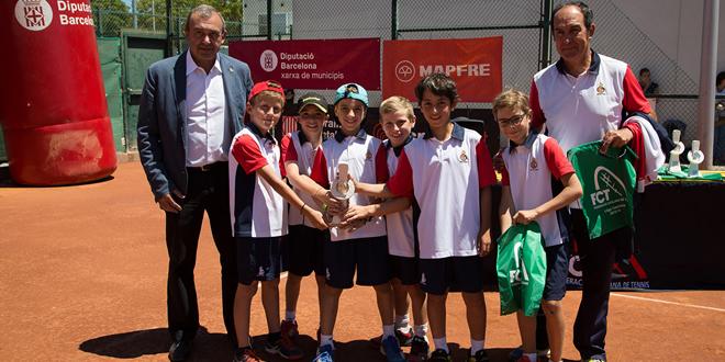 La Lliga Catalana conclou la seva 2ª edició amb una gran festa del tennis al CIT Cornellà