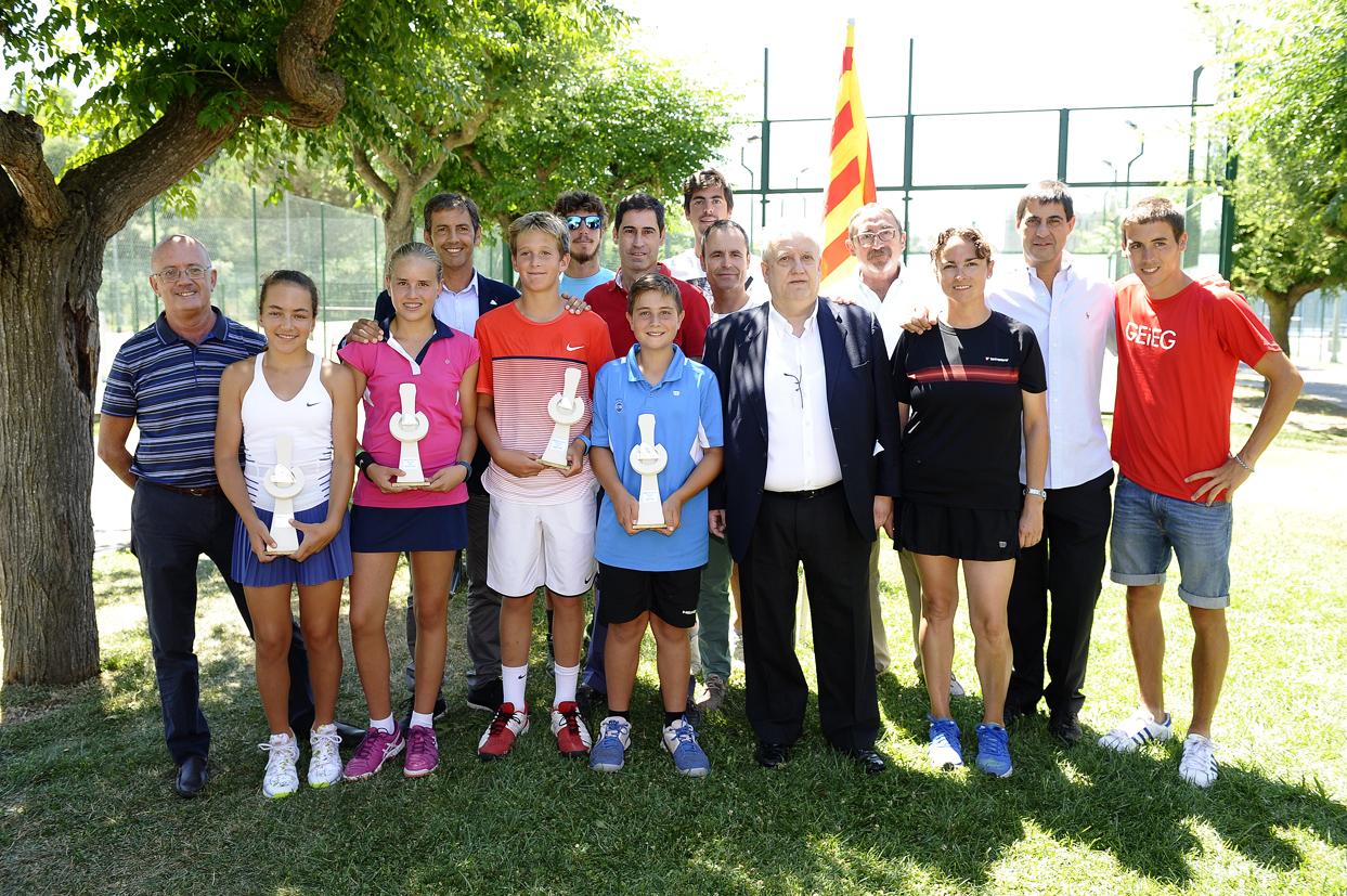 David Naharro i Claudia de las Heras campions de Catalunya sots-13