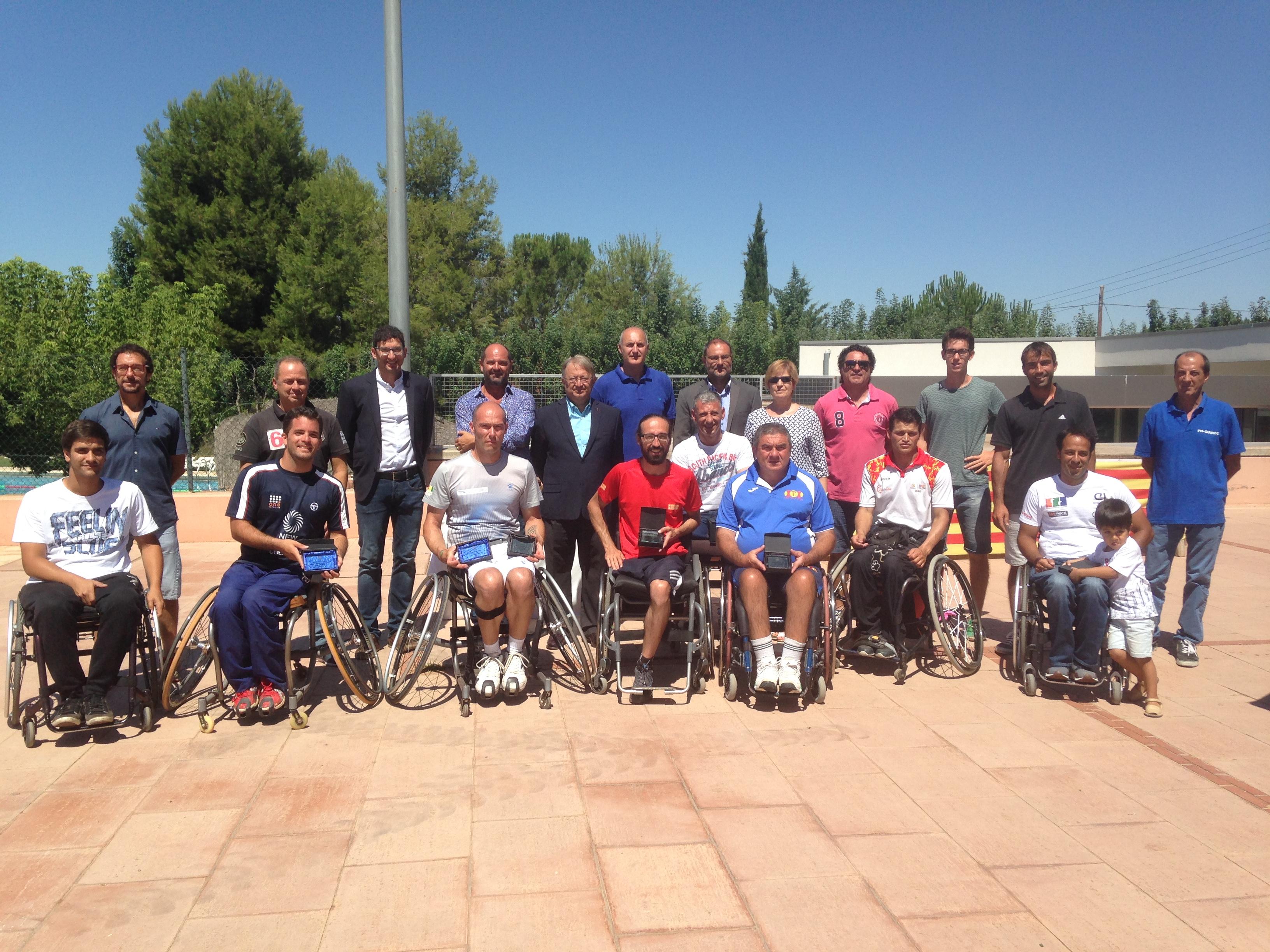 Celebrat l'ITFF Trofeu Internacional Ortopèdia Rubio de Tennis en Cadira de Rodes