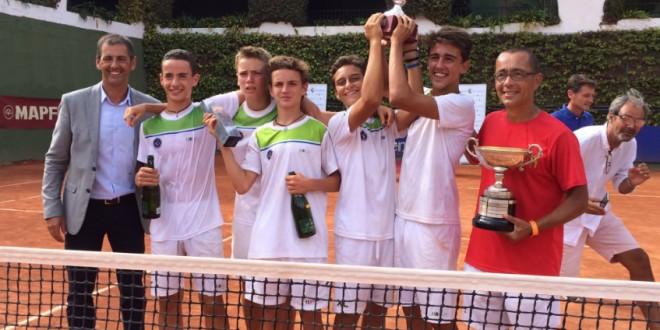"""Èxit del tennis català al """"Joan Compta"""""""