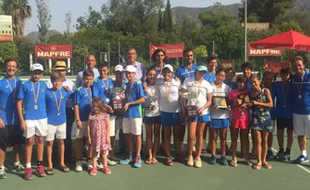 El CT Barcino, triomfa al Campionat d'Espanya Aleví per equips